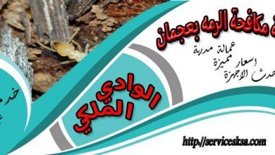 شركة مكافحة الرمة فى عجمان